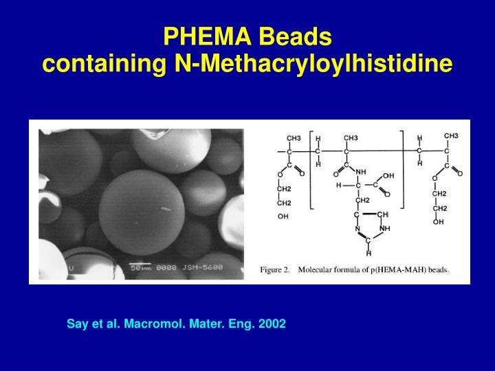 PHEMA Beads