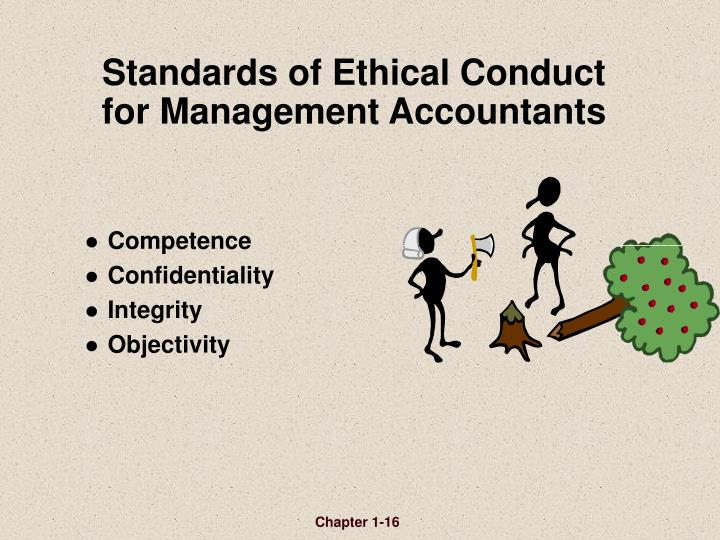 Standards of Ethical Conduct for Management Accountants