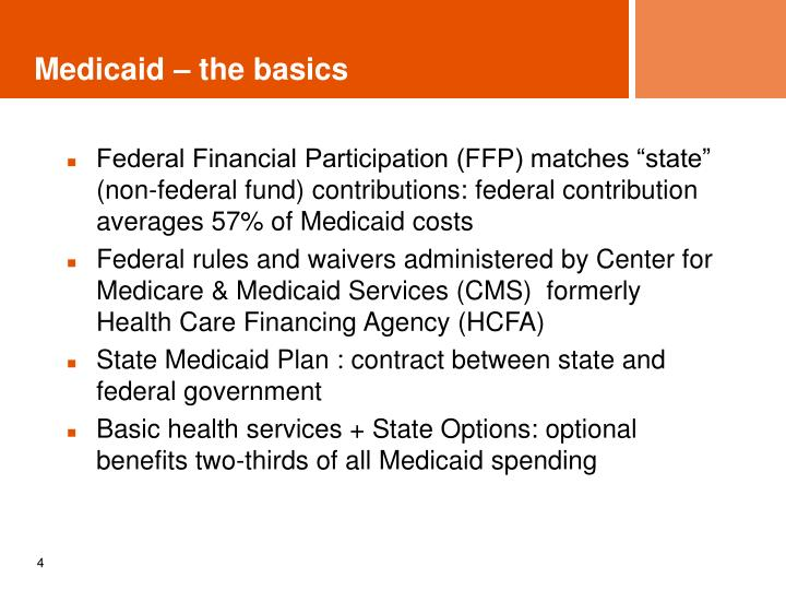 Medicaid – the basics