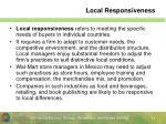 local responsiveness