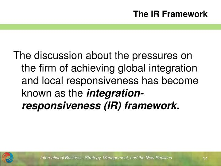 The IR Framework