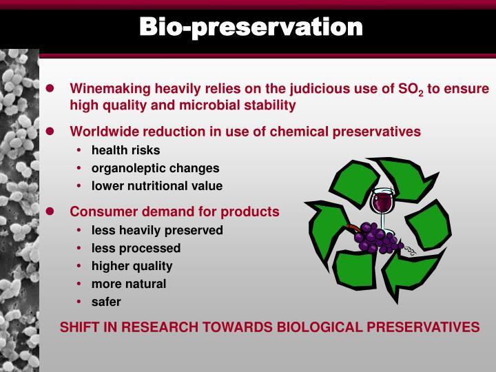 Bio-preservation