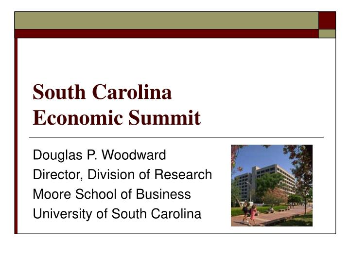 South carolina economic summit