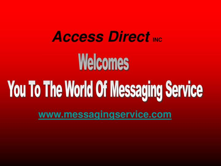 Access direct inc