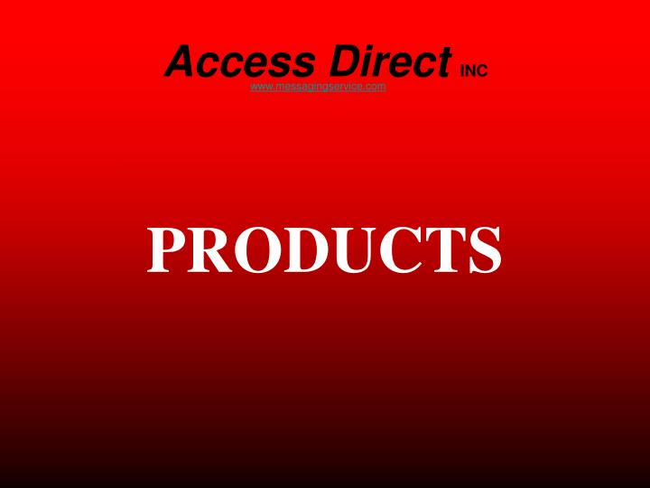 Access direct inc2