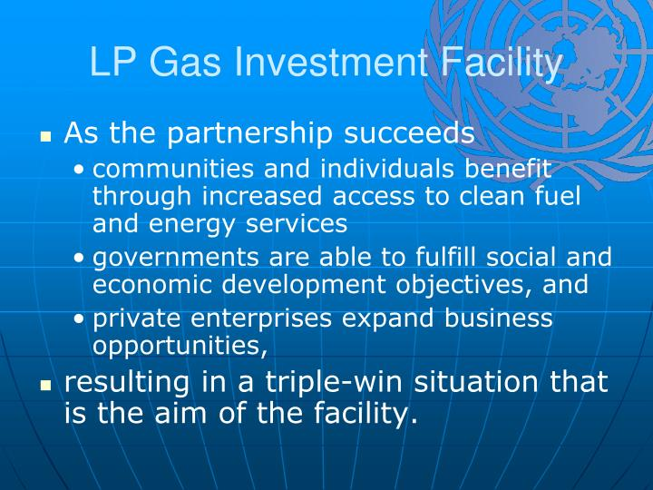 LP Gas Investment Facility