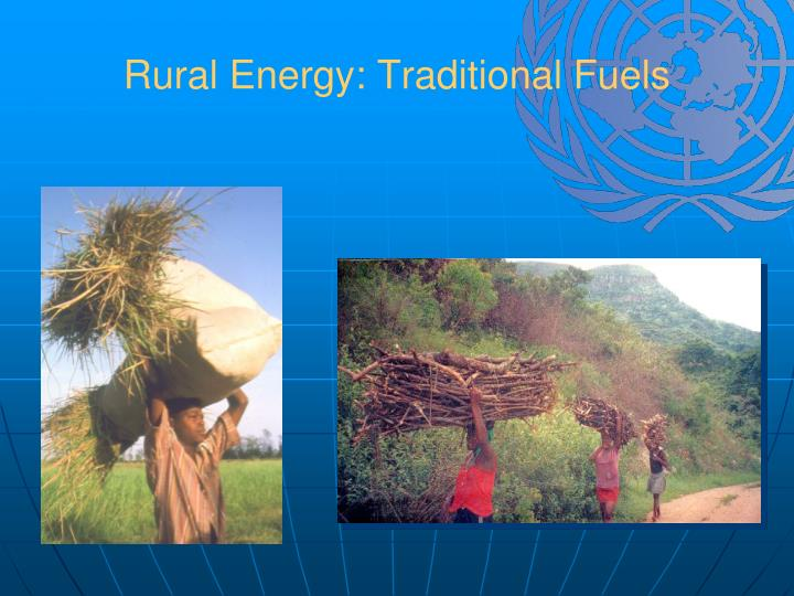 Rural Energy: Traditional Fuels