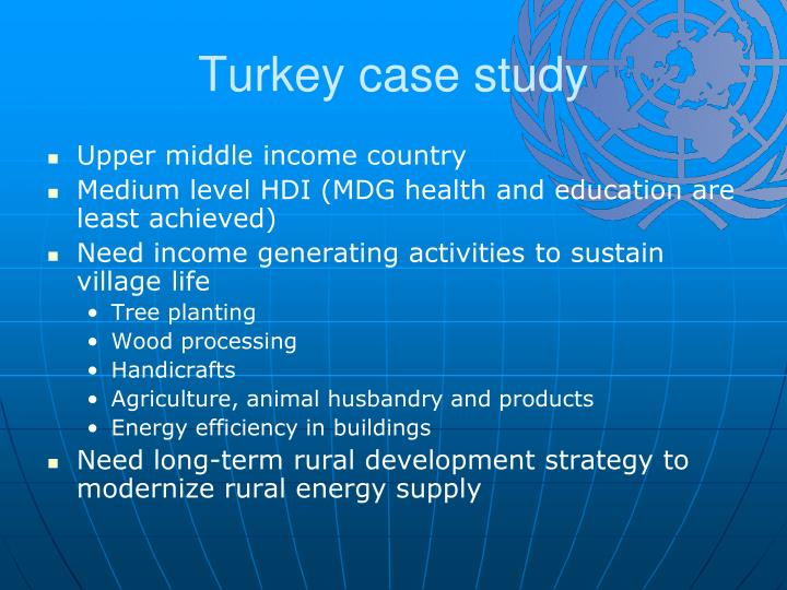 Turkey case study