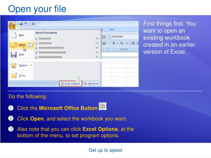 Open your file