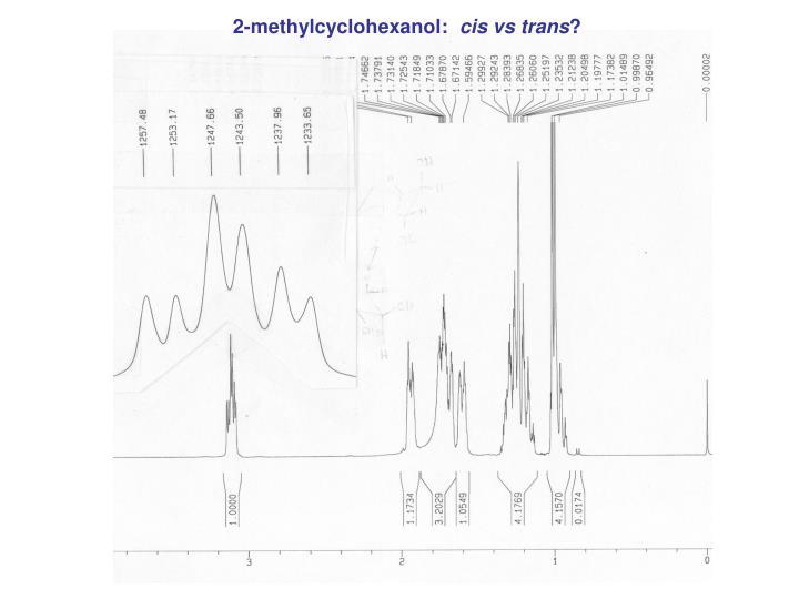 2-methylcyclohexanol: