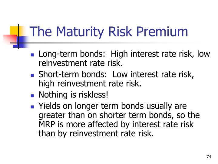 The Maturity Risk Premium