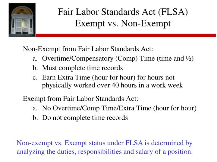 what is the fair labor standards Workers within the public and private sector have the right to work according to fair labor standards employees have equal rights related to all aspects of their.