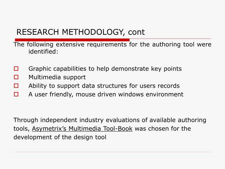 evolution of research methodology The evolution of strategic management research: recent trends and the evolution of strategic management research: d berghresearch methodology in strategic.