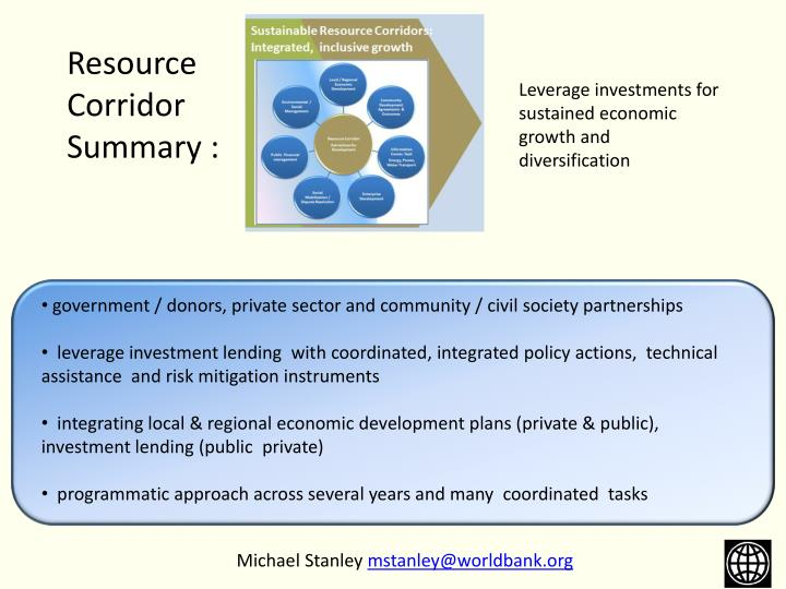 government / donors, private sector and community / civil society partnerships