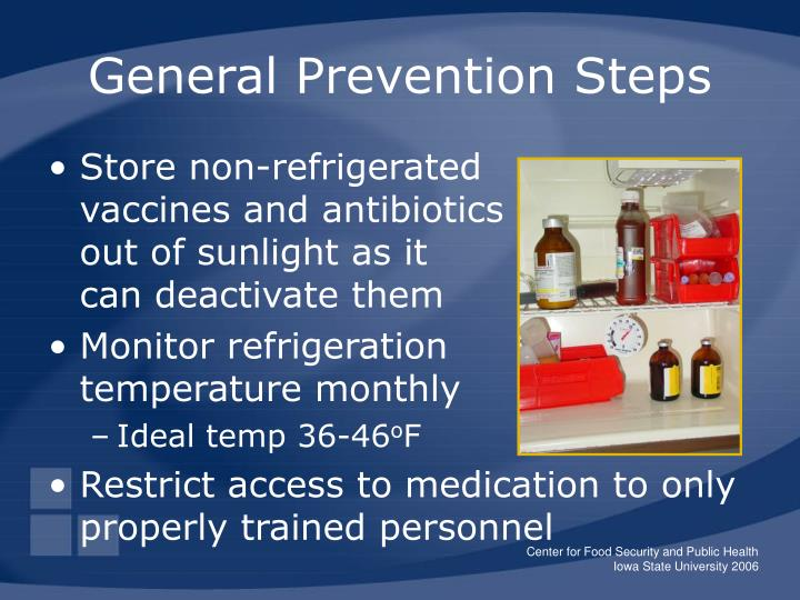 General Prevention Steps