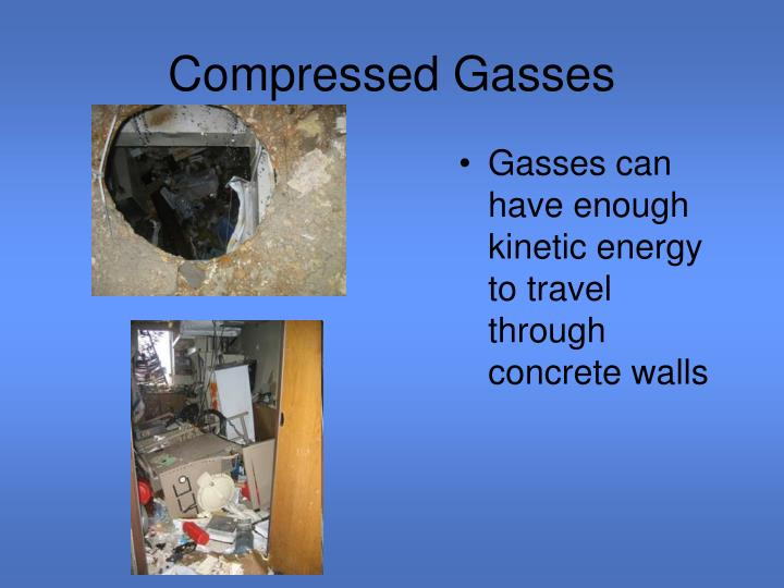 Compressed Gasses