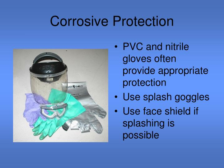 Corrosive Protection