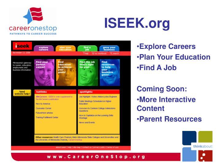 ISEEK.org