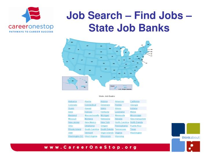 Job Search – Find Jobs – State Job Banks