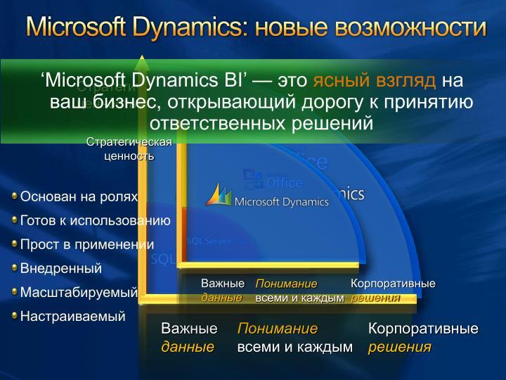 Microsoft Dynamics: