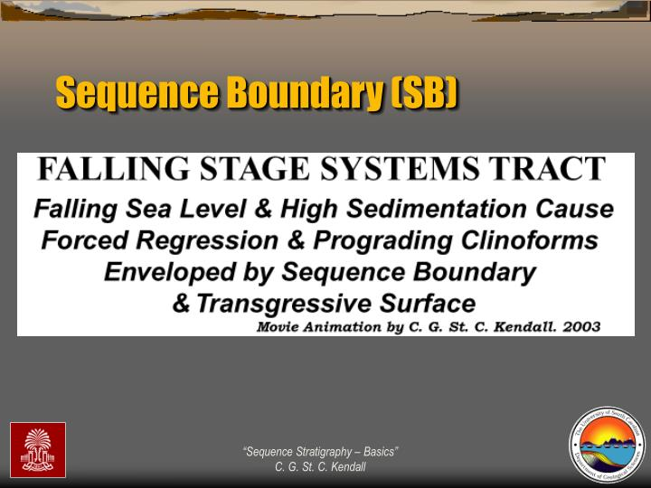 Sequence Boundary (SB)