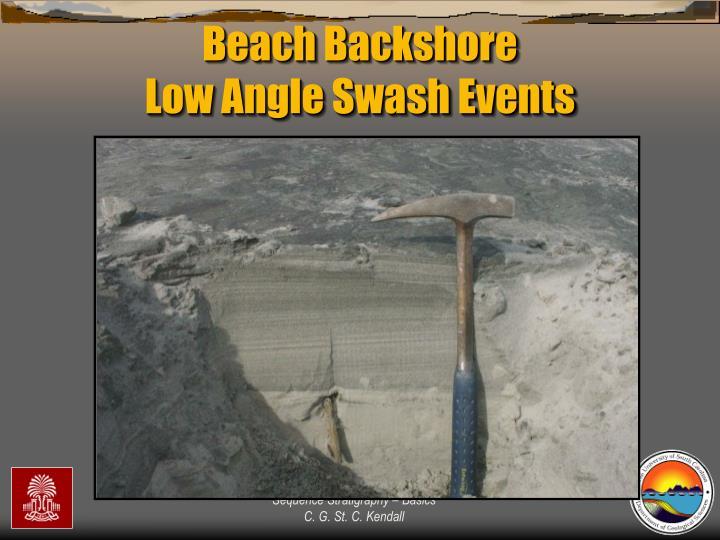 Beach Backshore