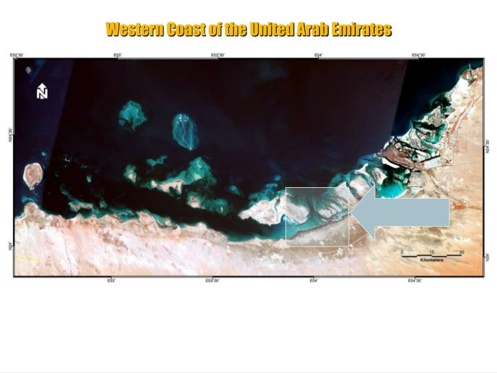Western Coastal Margin of the United Arab Emirates