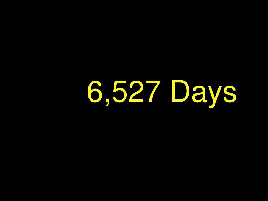 6,527 Days