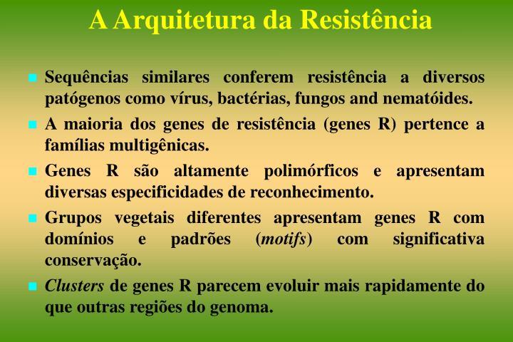 Sequências similares conferem resistência a diversos patógenos como vírus, bactérias, fungos and nematóides.