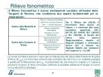 rilievo fonometrico