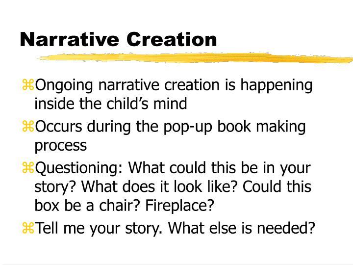 Narrative Creation