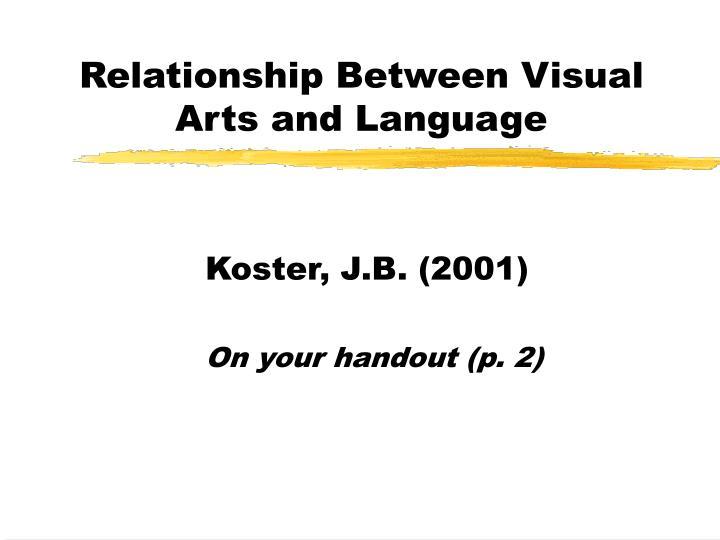 Relationship Between Visual