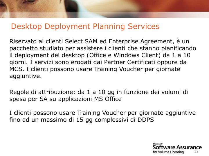 Desktop Deployment Planning Services