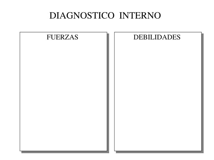 DIAGNOSTICO  INTERNO