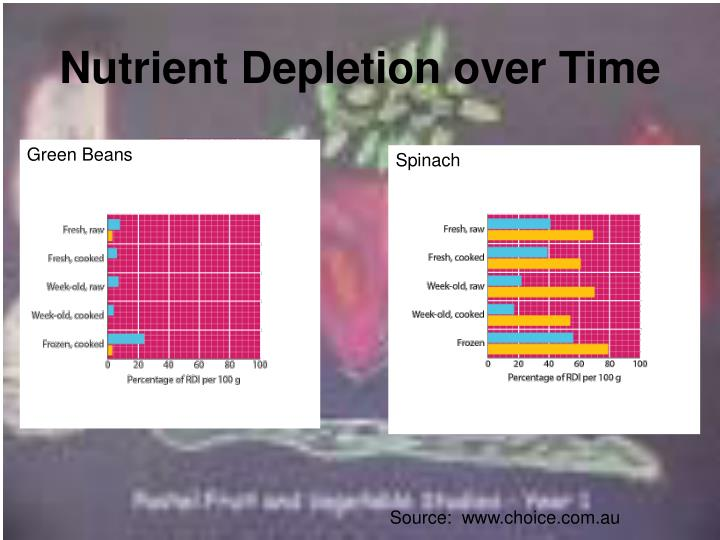 Nutrient Depletion over Time