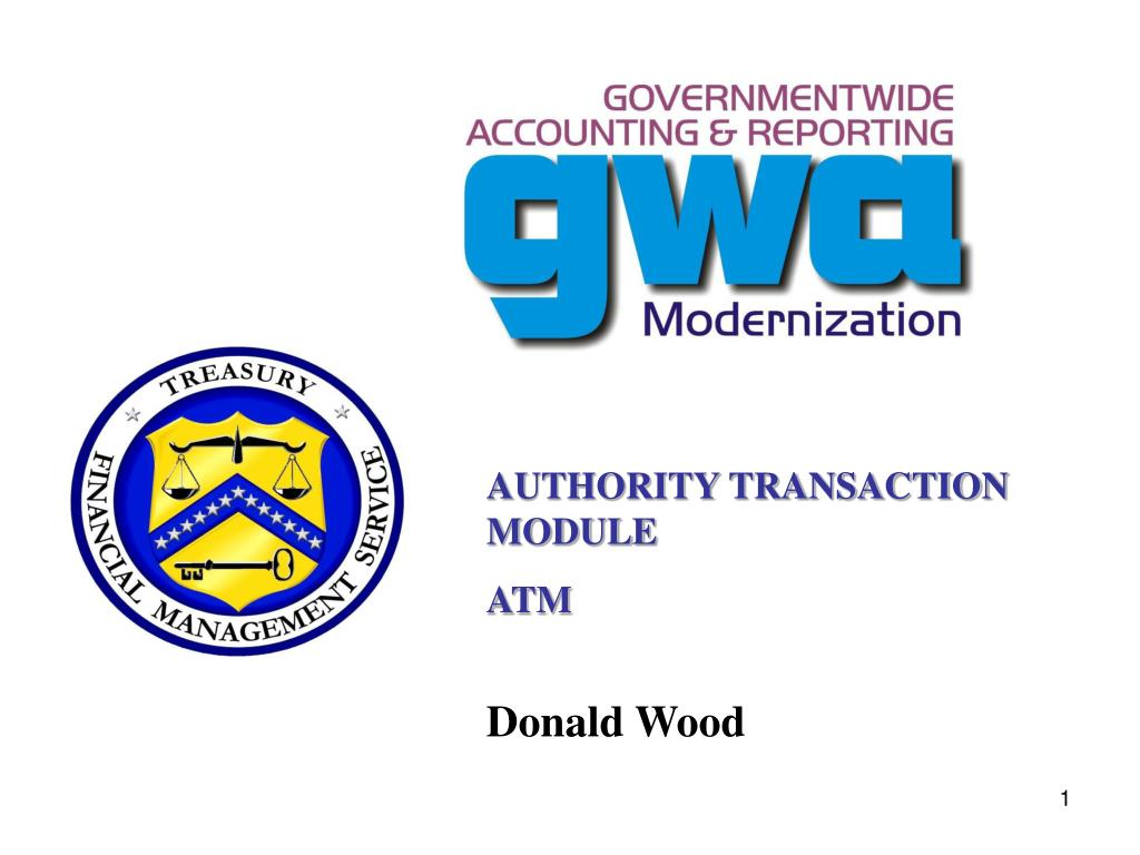 AUTHORITY TRANSACTION MODULE