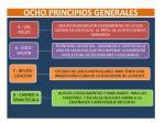 ocho principios generales1