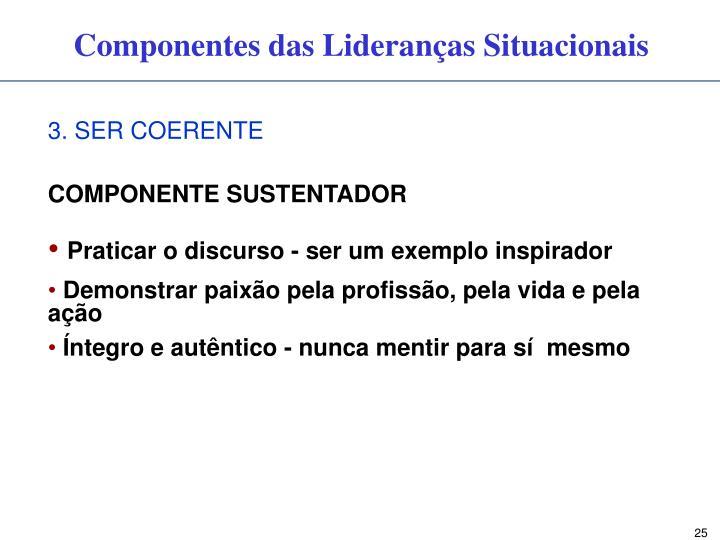 3. SER COERENTE