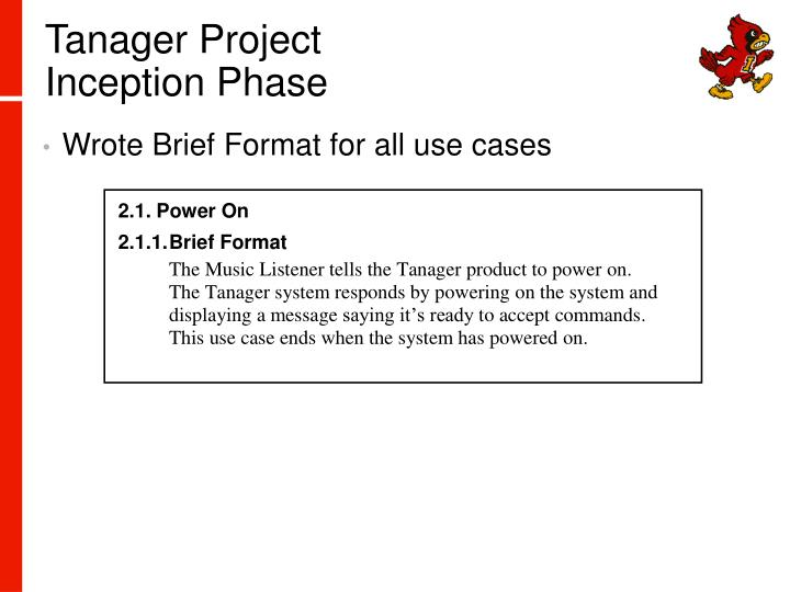 Tanager Project