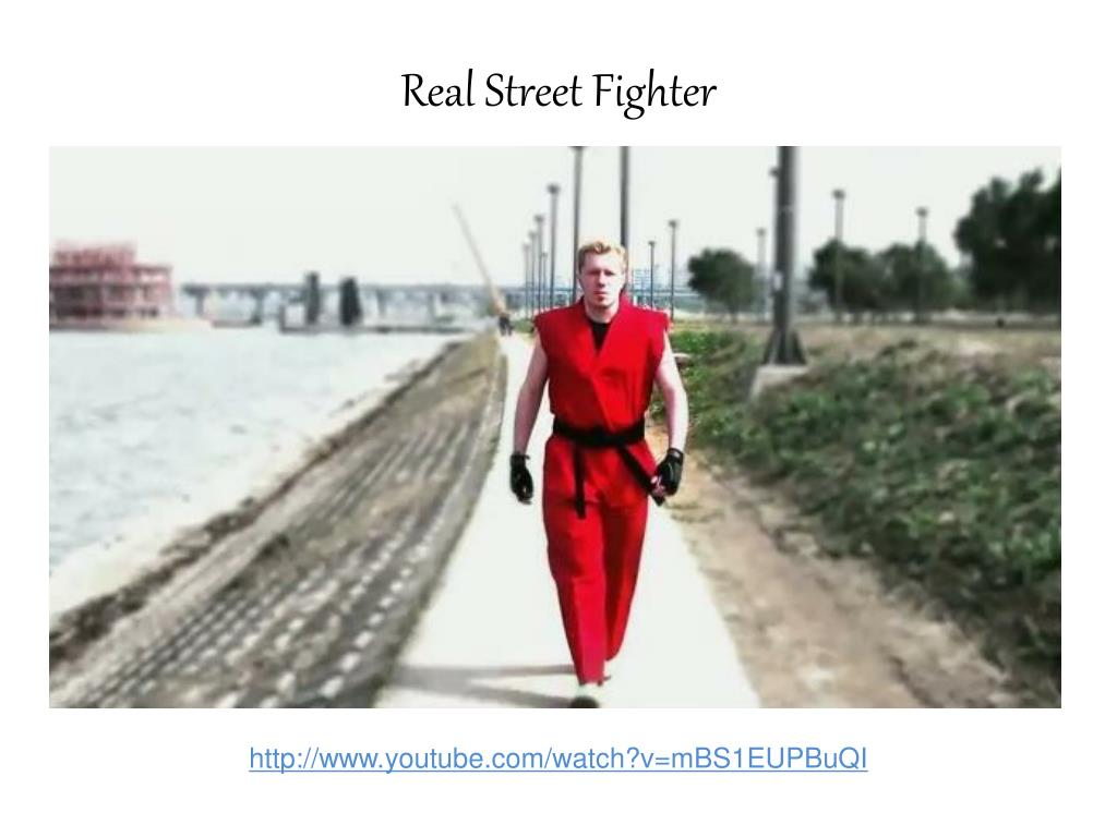 real street fighter