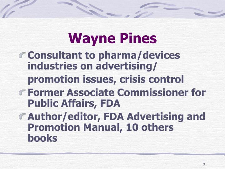 Wayne Pines