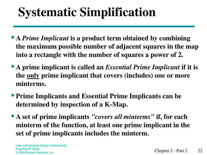 Systematic Simplification