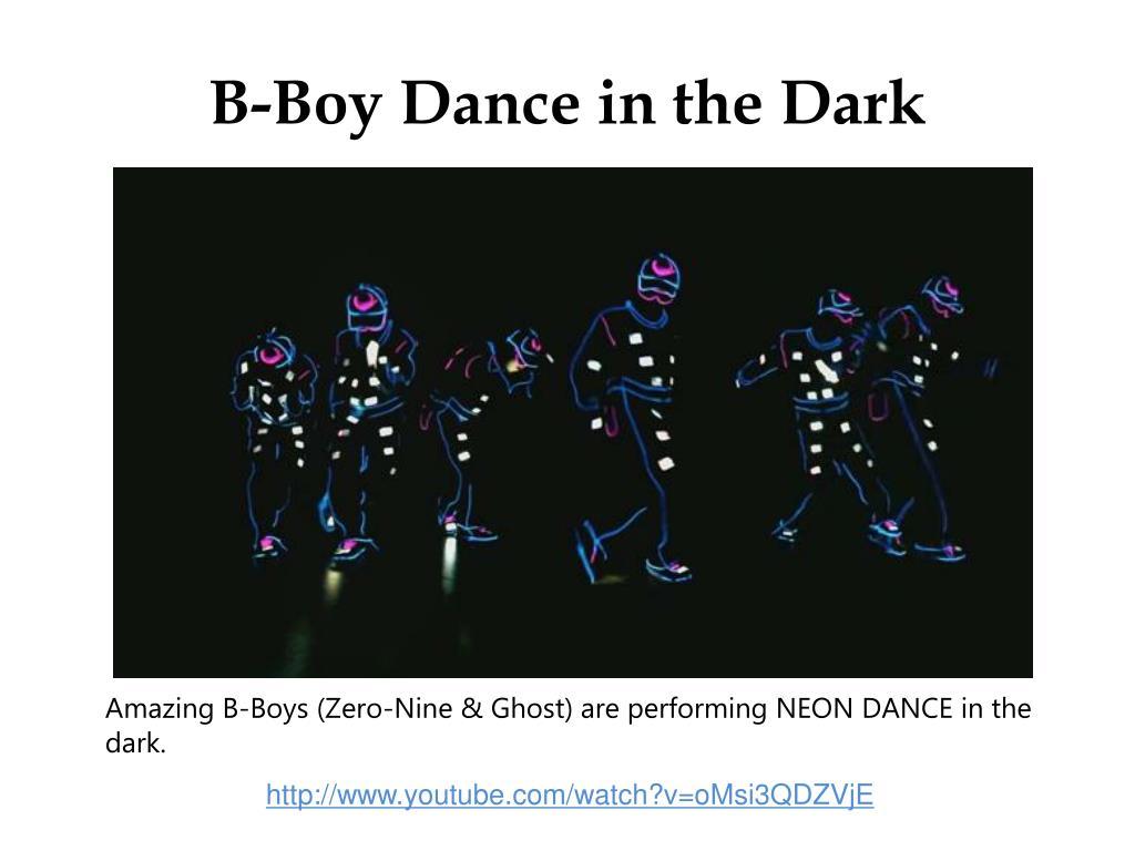 B-Boy Dance in the Dark