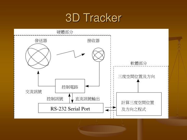 3D Tracker