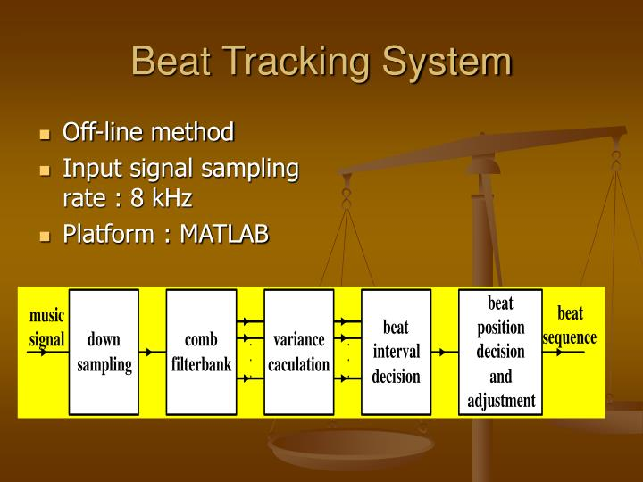 Beat Tracking System