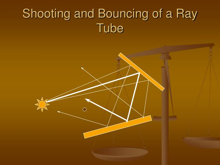 Shooting and Bouncing of a Ray Tube