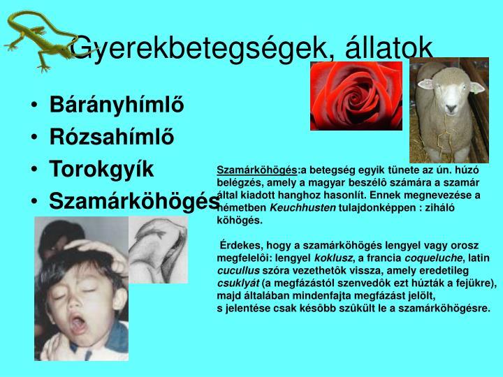 Gyerekbetegs