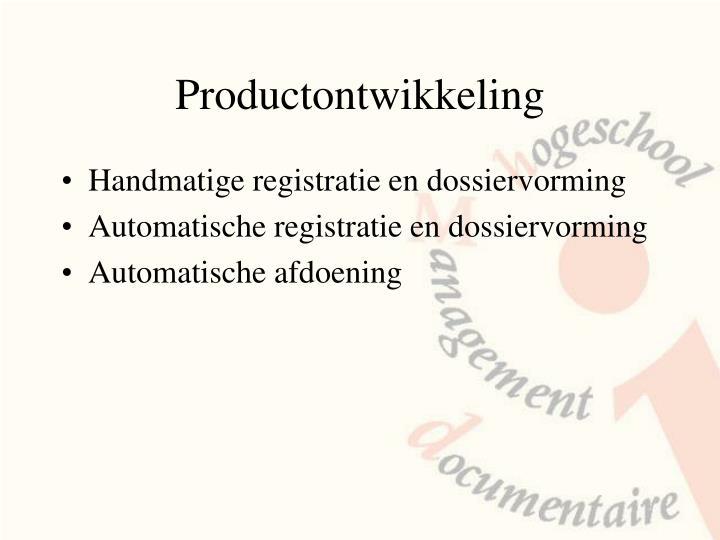Productontwikkeling