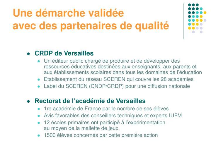 CRDP de Versailles