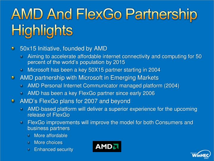 AMD And